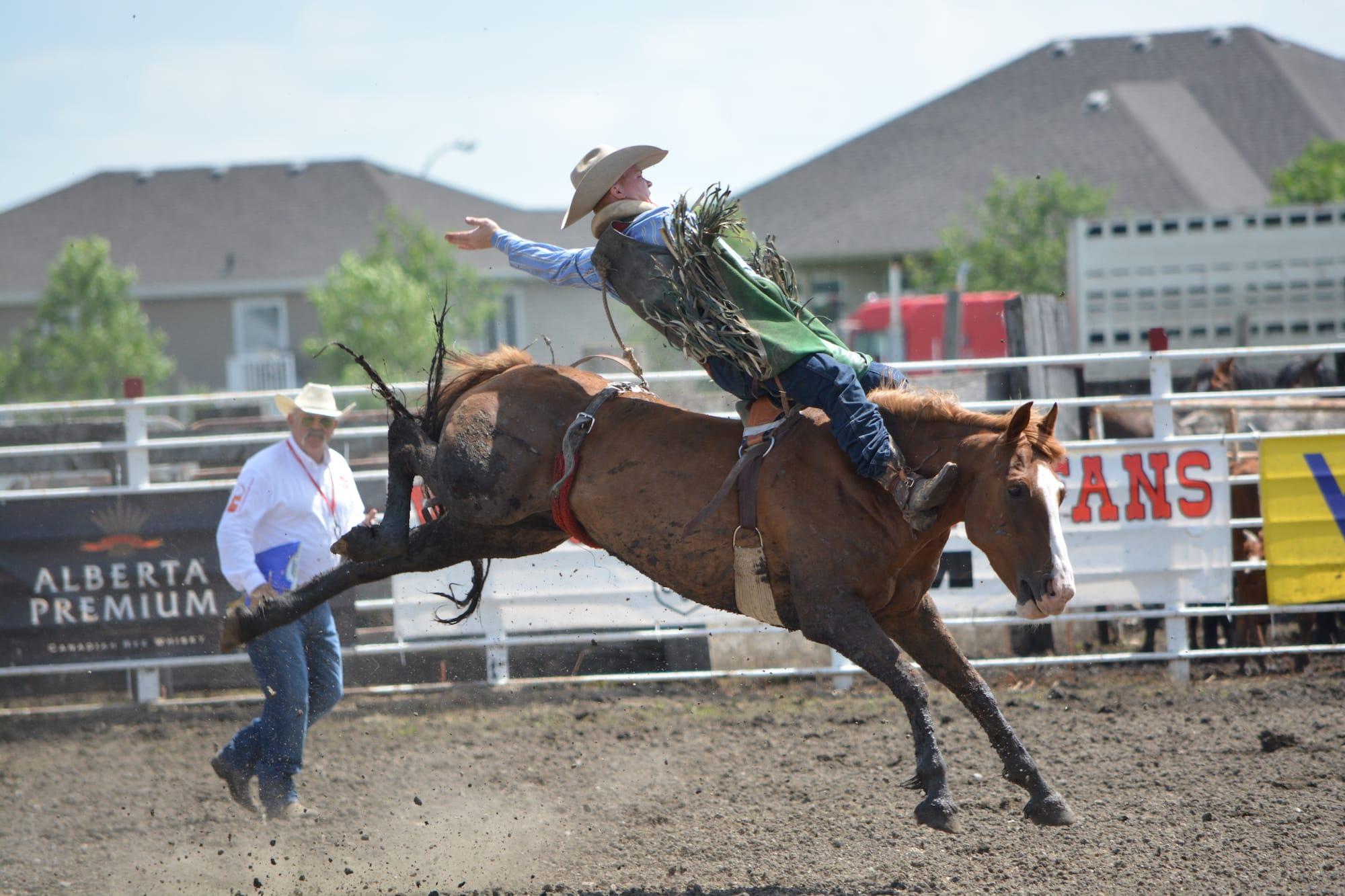Bareback Riding Manitoba Stampede