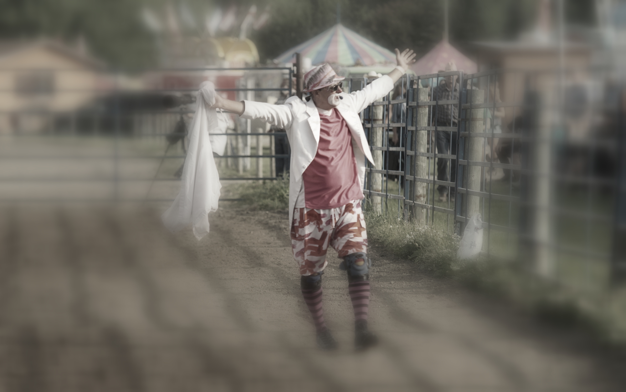 Rodeo Clown Manitoba Stampede